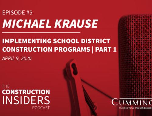 Implementing School District Construction Programs, Part 1