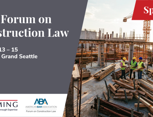 ABA Forum on Construction Law 2021 Fall Meeting