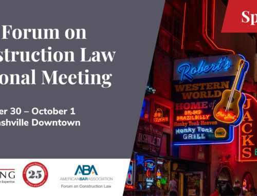 ABA Forum on Construction Law Regional Meeting